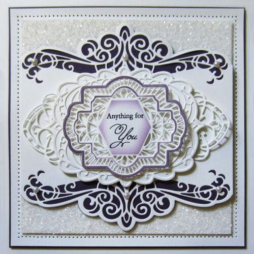 Lace Edge Cut Die Metal Cutting Dies Scrapbook Embossing Album Card Craft Decor