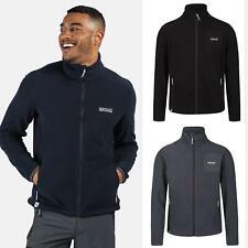 Regatta Mens Stanner Full Zip Lightweight Casual Fleece Jacket Zipped Pockets