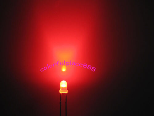100 x 3mm Dual Bi Color Polar Changing Red//Green Led Diffused Leds Free Shipping