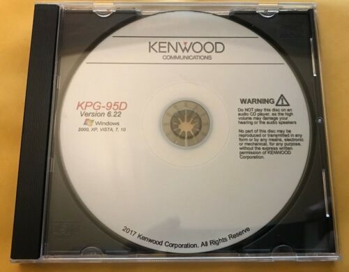 Kenwood Programming Software KPG-95D v6.22 TK-5210 TK-5710 TK-5710H TK-5310
