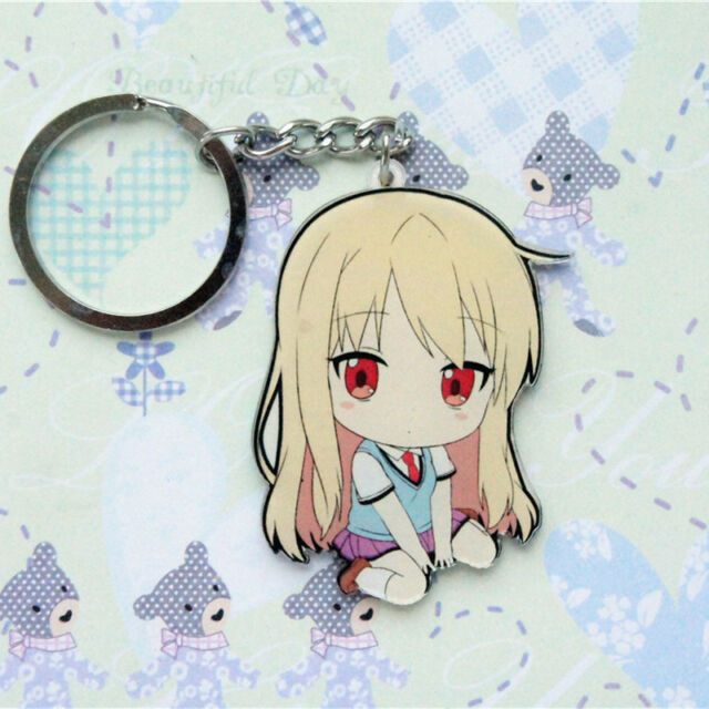Pet Girl of Sakurasou Mashiro Shiina Acrylic Figure Keyring Charm Key Chain