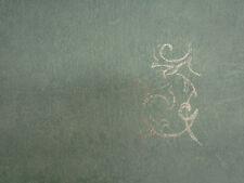 Wallpaper, Plain Dark Green - Silver Floral Feature Design Texture BNIB SL20073
