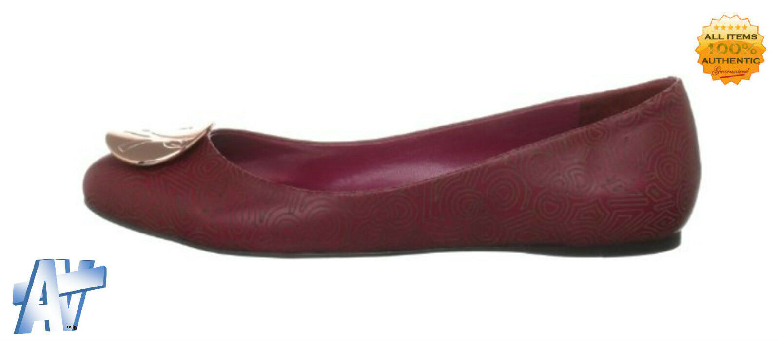 ZANDRA RHODES Leather Dionne Leather RHODES Ballet Shoes BNIB 0485bf