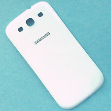 100% Genuine Samsung Galaxy S3 i9300 rear battery cover back housing white gloss