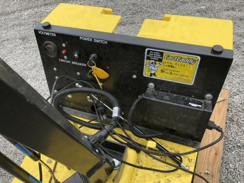 24 Volt With Built In Charger. Details about  /CartCaddy 4SC Cart Mover