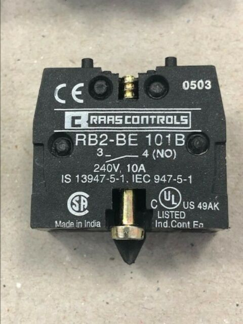 Contact Block 1NO MULTICOMP-RB2-BE101
