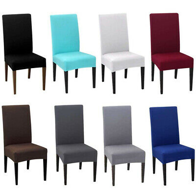 4PCS Dining Room Chair Cover Stretch Kitchen Chair Slipcover Dining Chair  Covers | eBay