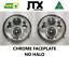 "thumbnail 1 - JTX, 1pr. Chrome LED Headlights, 5 3/4"", No Halo"