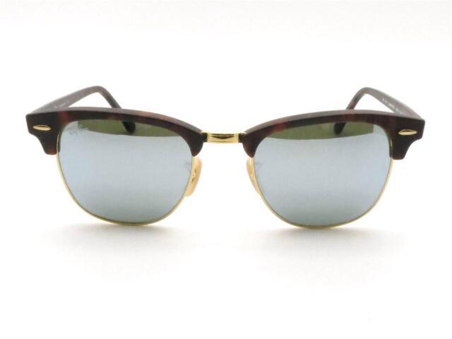 de07d287992 Ray Ban Rb3016 114530 Sand Havana Clubmaster Sunglasses for sale online