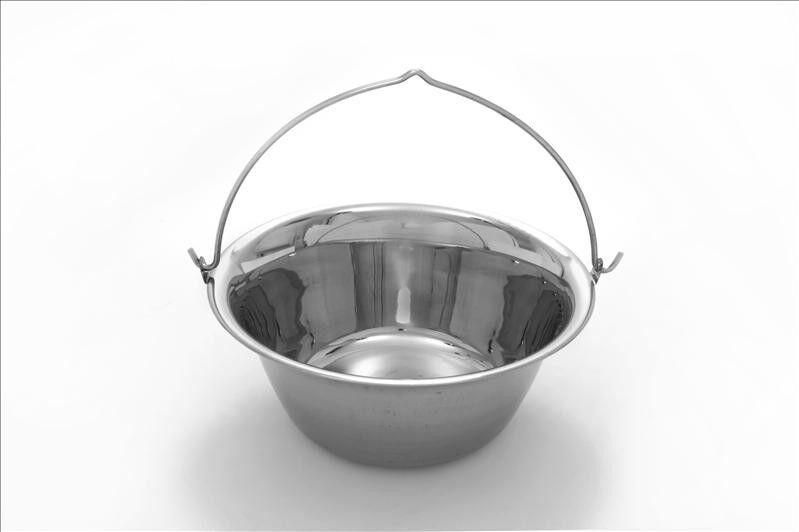 Gulaschkessel-Set - Edelstahl - 6 l - Komplettpaket  | Das hochwertigste Material