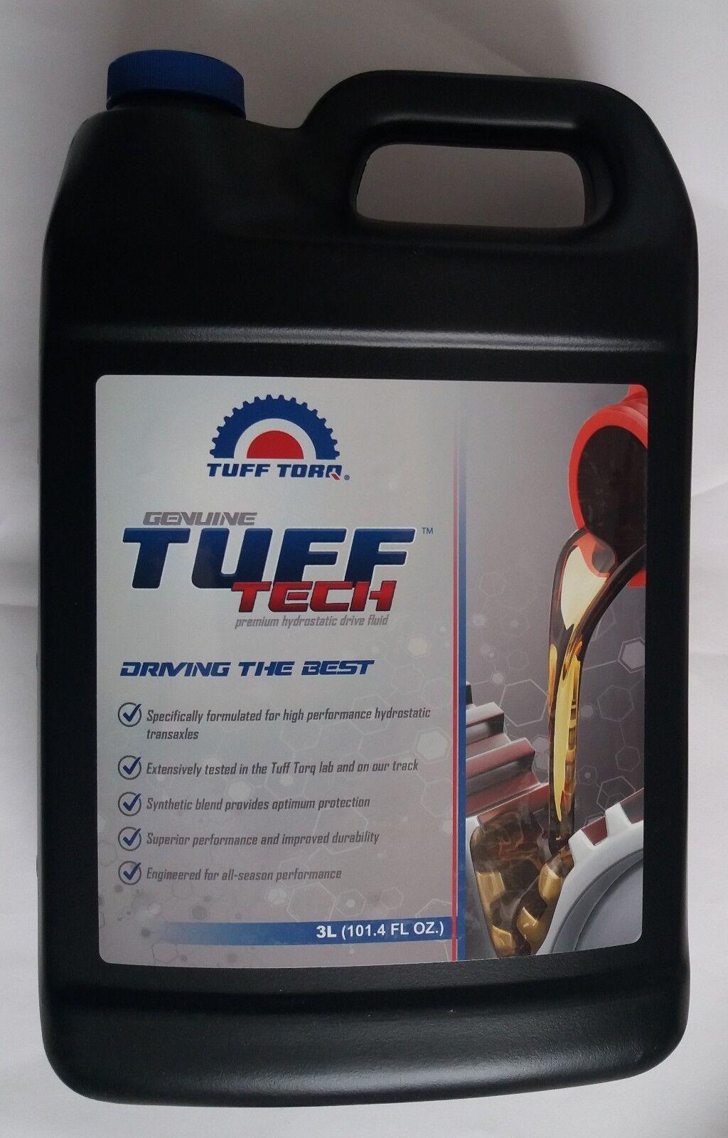 OLIO 5w50 3 litri originale per tutti TUFF TORQ Hydrostat-INGRANAGGI