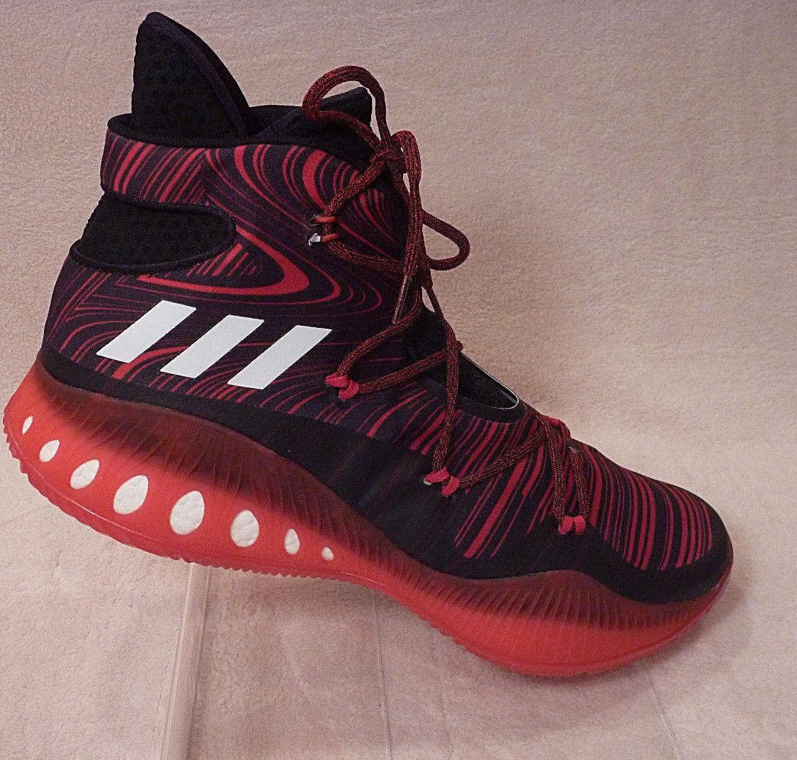 Hombres 17 baloncesto Adidas Zapatos  de baloncesto 17 NBA explosivo SM Crazy B38863 Rojo Negro Boost dbd69d