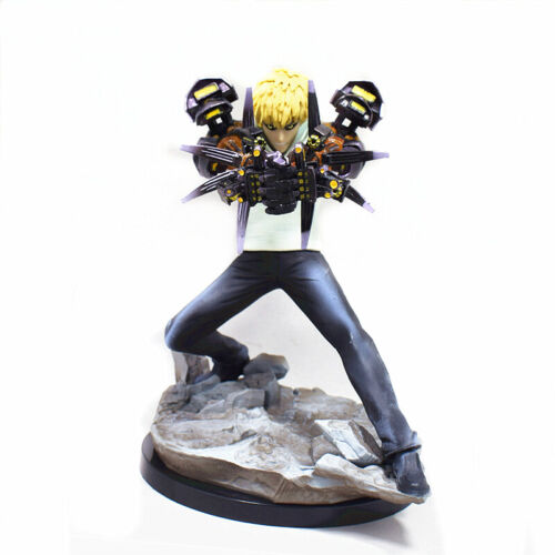 Anime One Punch Man XTRA 1//10 Scale Genos PVC Figure 15CM Toy New no Box