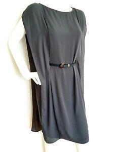 e3ec720d1fa4 COS grey loose cocktail drape dress size 10 --USED ONCE-- knee ...