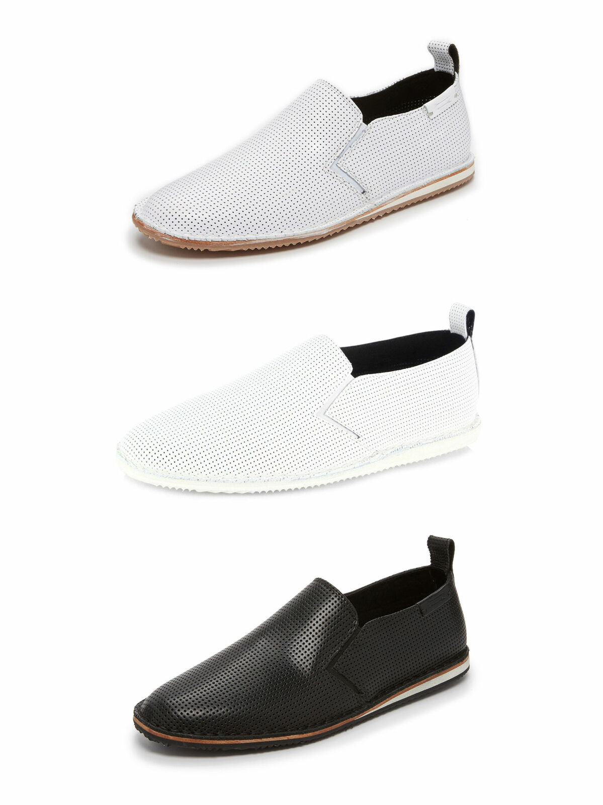 URI MINKOFF Men's Union Slip-On Sneakers  150 NIB