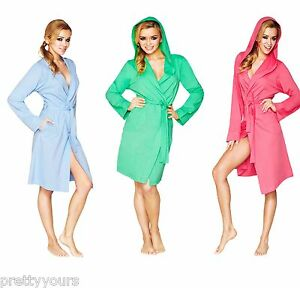25eb0653a0 Image is loading New-Womens-Lightweight-Bath-Robe-Housecoat-Dressing-Gown-
