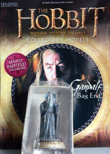 Eaglemoss #1 figur /& magazine hobbit lord of Gandalf den Grauen der Zauberer