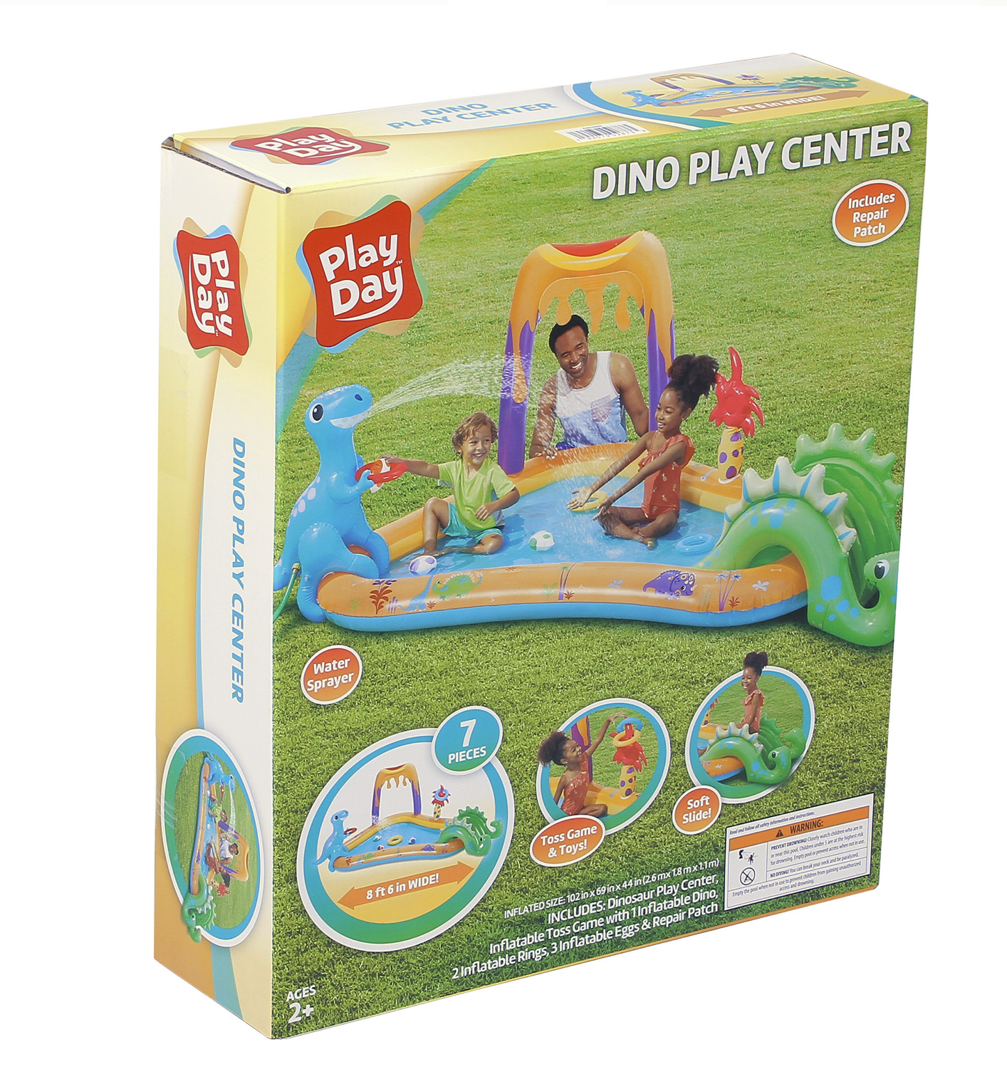 2021 Play Day Dino Play Center Inflatable Pool 102
