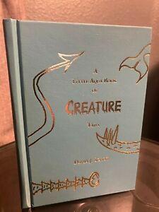 A-Little-Aqua-Book-of-Creature-Tails-David-J-Schow-Signed-Limited-Borderlands