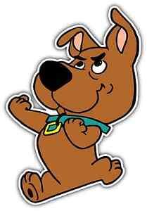 Scrappy Doo Scooby Doo Puppy Dog Cartoon Car Bumper Vinyl
