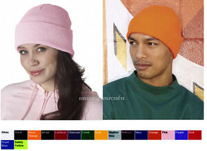 Image is loading Sportsman-12-Inch-Solid-Knit-Beanie-SP12 73e4390e8993