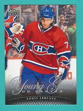 2011-12 Upper Deck Series 2 Canvas Young Guns # 223 of Louis Leblanc
