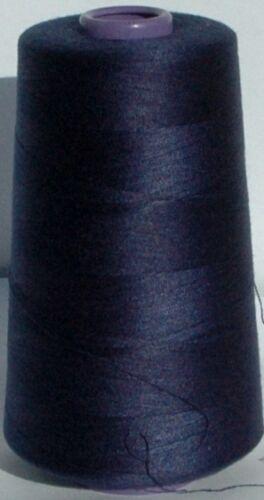 Strette FILO MACCHINA da cucire poliestere 5000mtr x 4 rulli di alta qualità 120s