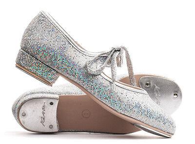 Mädchen Damen alle Farben Glitzer NIEDRIGE ABSATZ, Stepptanz Schuhe von Katz