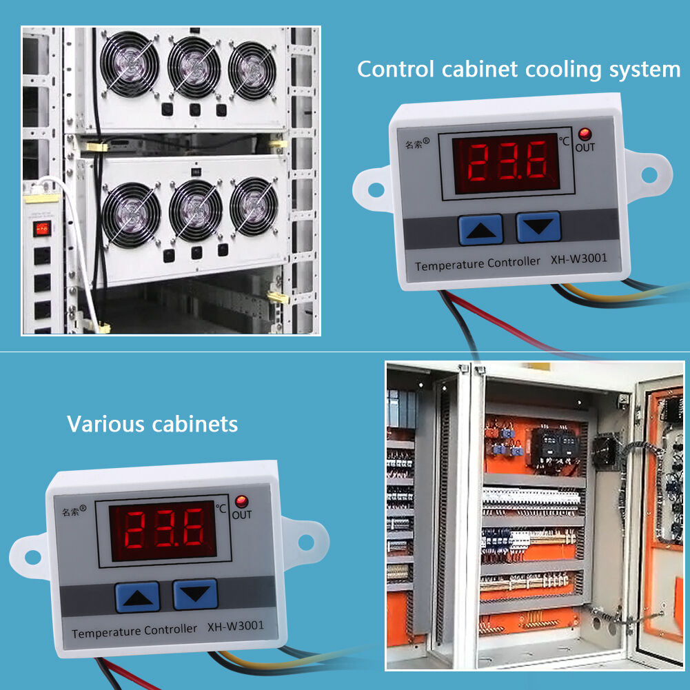 Elitech Stc 1000 Cooling And Heating Thermostat Temperature How To Wire An Stc1000 Controller Uk Craft Beer 220v Ebay