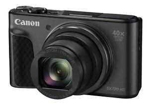 Canon PowerShot SX730 HS schwarz mit 40-fach optischen Zoom SX 730 ***