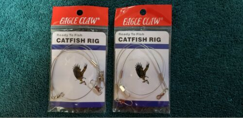 Eagle Claw Ready to Fish Catfish Rig BH24 Lot of 2