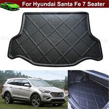 Car Cargo Mat Trunk Liner Tray Floor Mat For Hyundai Santa Fe 7 seater 2013-2017