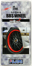 Fujimi TW59 BBS Wheel & Tire Set 17 inch 1/24 scale