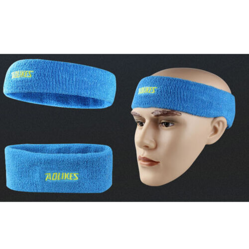 Men Women Mulit-color Sport Running Gym Hair Head Band Sweatband High elastic