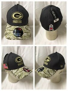 Green Bay Packers 2016 New Era 39Thirty OFFICIAL Sideline Salute ... 67c59012f