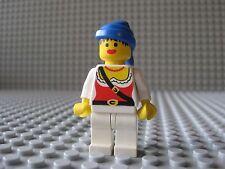 Lego PIRATE FEMALE Minifigure With Blue Bandana Vintage 6273 6285 6251 6286