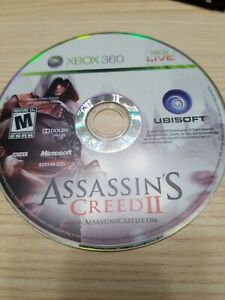 Assassin-039-s-Creed-II-2-Xbox-360-Disc-Only-Tested-Fast-Free-Ship