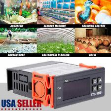 Digital Temperature Controller Thermostat Incubator Stc 1000 Withheaterampcooler 24v
