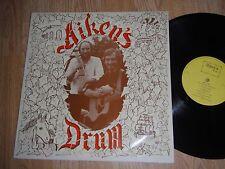 AITKEN'S DRUM RARE PRIVATE PRESS FOLK LP 1981 EXC