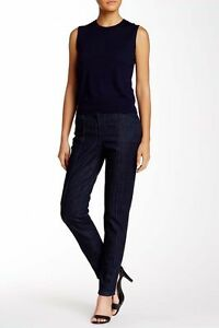 215 00 Theory Størrelse New W Anb 887717413275 Paticep Leg Indigo 2 Straight Stretchseamed Fxndpzwnvq