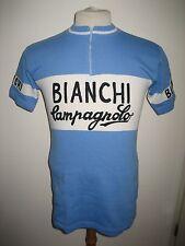 Bianchi Campagnolo vintage wool Gimondi shirt jersey cycling maillot size 4, L