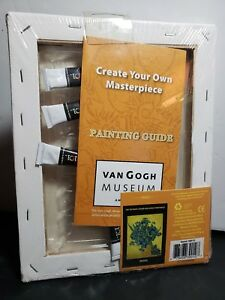 Details about NEW! VAN GOGH MUSEUM Amsterdam Create your own  masterpiece Sunflowers