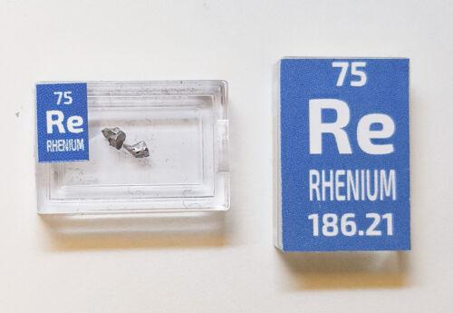 element sample in Periodic Element Tile Rhenium Metal Crystals 0.1 Gram 99.9/%