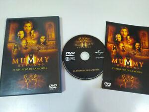 El-Regreso-de-la-Momia-Brendan-Fraser-DVD-Extras-Espanol-English-Region-2