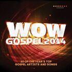 WOW Gospel 2014 by Various Artists (CD, Feb-2014, 2 Discs, RCA)