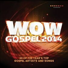 WOW Gospel 2014 by Various Artists (CD, Feb-2014, 2 Discs, RCA) NEW