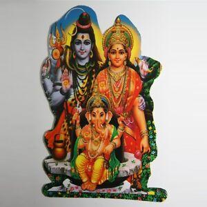 Adhesivo-Pegatina-2x-Shiva-Family-India-Goa-Hippie-God-Stickers-Puja-Om-19