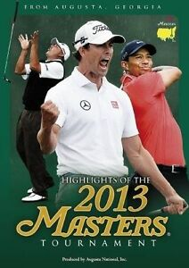 THE-2013-MASTERS-TOURNAMENT-DVD-GOLF-TIGER-WOODS-LEE-WESTWOOD-RARE