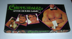 CHIPPENDALES Male Strippers AFTER HOURS 1983 Game