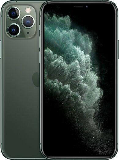 Apple iPhone 11 Pro Max - 256GB - MidnightGreen (Unlocked) A2161 (CDMA + GSM)